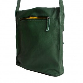 Flap Bag Rainforest Green Washed Sticksandstones Tasche Dunkelgrün
