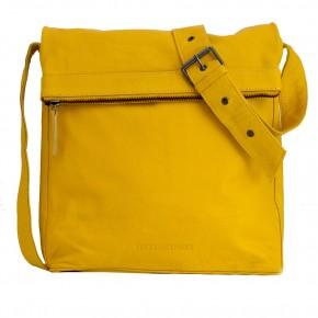 Flap Bag Yellow Washed Sticksandstones Tasche Gelb
