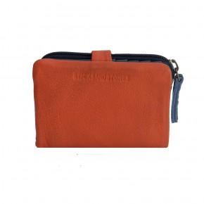 Laguna Wallet Burnt Brick Washed Sticksandstones Portemonnaie Orange