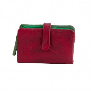 Laguna Wallet Cherry Red Washed Sticksandstones Portemonnaie Rot