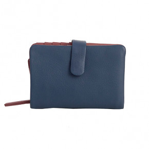 Laguna Wallet Denim Blue Washed Sticksandstones Portemonnaie Jeansblau