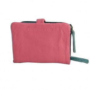 Laguna Wallet Millenium Pink Washed Sticksandstones Portemonnaie Rosa