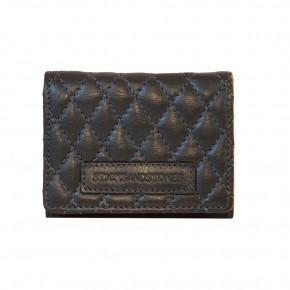 Andes Quilted Wallet Anthracite Sticksandstones Portemonnaie Dunkelgrau