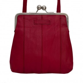 Luxembourg Bag Red Washed SticksandStones Tasche Rot