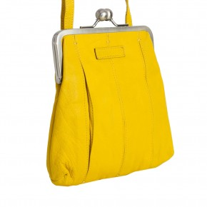 Luxembourg Bag Yellow Washed SticksandStones Tasche Gelb
