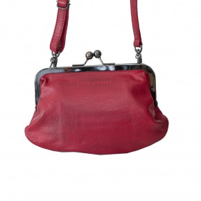 Malaga Purse Cherry Red Washed Sticksandstones Tasche Rot
