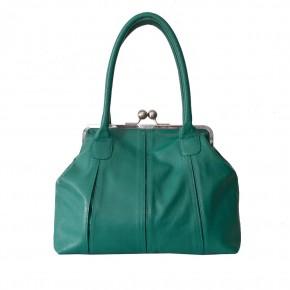 Marseille Bag Emerald Green Sticksandstones Tasche Blaugrün