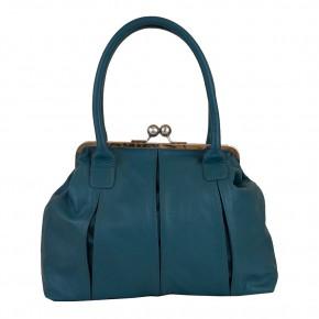 Marseille Bag Teal Sticksandstones Tasche Blaugrün