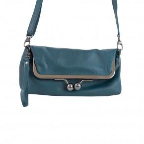 Monaco Bag Deep Teal Washed SticksandStones Tasche Blaugrün