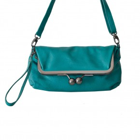 Monaco Bag Deep Turquoise Washed SticksandStones Tasche Türkis