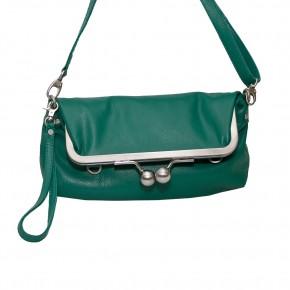 Monaco Bag Emerald Green SticksandStones Tasche Smaragdgrün