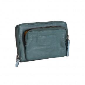 Montana Wallet Deep Teal Washed Sticksandstones Portemonnaie Blaugrün