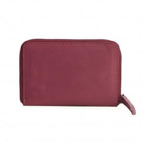 Montana Wallet Ruby Red Washed Sticksandstones Portemonnaie Altrosa