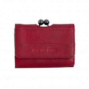 Napoli Wallet Cherry Red Washed Sticksandstones Portemonnaie Rot