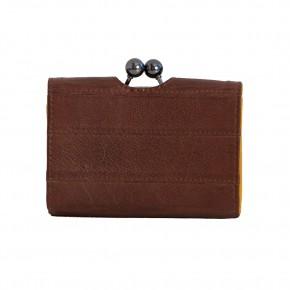 Napoli Wallet Cognac Washed Sticksandstones Portemonnaie Braun