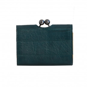 Napoli Wallet Deep Teal Washed Sticksandstones Portemonnaie Blaugrün