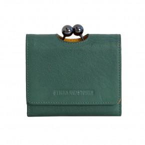 New York Wallet Smoke Pine Washed Sticksandstones Portemonnaie Dunkelgrün