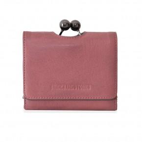New York Wallet Vintage Pink Washed Sticksandstones Portemonnaie Altrosa