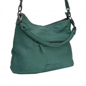 Paris Bag Green Spruce Washed SticksandStones Tasche Fichtengrün