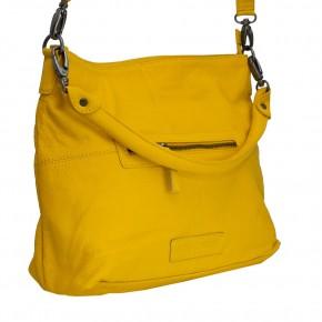 Paris Bag Yellow Washed SticksandStones Tasche Gelb