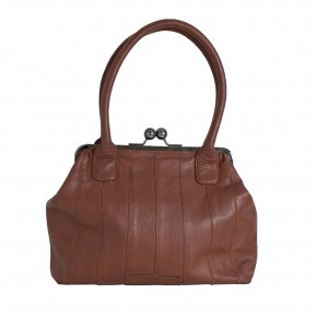 Ravello Bag Cognac Washed Sticksandstones Tasche Braun
