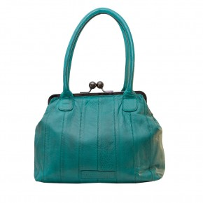 Ravello Bag Deep Turquoise Washed Sticksandstones Tasche Türkis