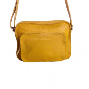Retiro Bag Honey Yellow Washed Sticksandstones Tasche Gelb